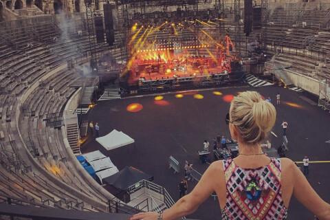 Johnny Hallyday aux arènes de Nîmes : Dans les coulisses avec Laeticia