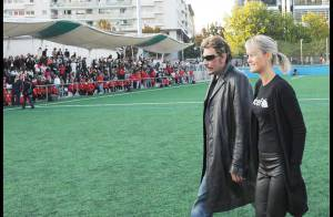 REPORTAGE PHOTOS EXCLUSIVES : Johnny et Laeticia Hallyday, le look glam'rock en toutes circonstances !