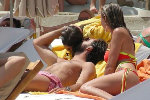 Andrea Pirlo : Tendre papa avec sa petite Angela devant sa charmante Valentina