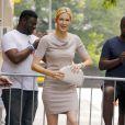 """Kelly Rutherford va participer à l'émission de télévision """"The View"""" à New York, le 6 juillet 2015, pour parler de son combat pour récupérer la garde des ses enfants."""