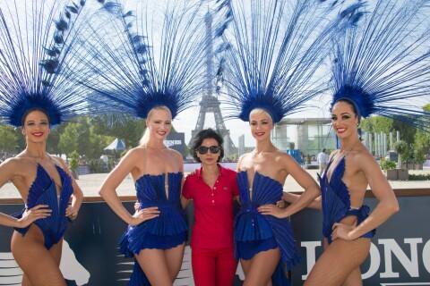 Rachida Dati : Garde d'honneur pour clôturer l'incroyable Paris Eiffel Jumping