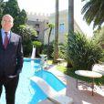 Exclusif - Entretien avec le prince Albert II de Monaco au palais princier à l'occasion des célébrations qui vont marquer le 10e anniversaire de son accession au trône, le 25 juin 2015