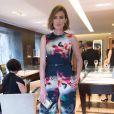 Nieves Alvarez - Cocktail Bulgari Haute-Couture à Paris le 7 juillet 2015.