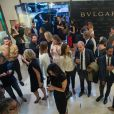 Cocktail Bulgari Haute-Couture à Paris le 7 juillet 2015.