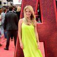 Melinda Messenger lors de l'avant-première du film Ant-Man à Londres le 8 juillet 2015