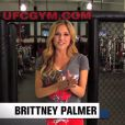"Brittney Palmer, journaliste, animatrice et ""octogon girl"" pour l'UFC"