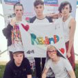 Les membres du groupe Rewind - Photo postée sur Twitter, juillet 2015