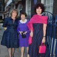 Hannah Rothschild, Lady Serena Rothschild et Victoria Rothschild Gray - Soirée de pré-mariage de Nicky Hilton et James Rothschild au manoir Spencer House à Londres. Le 9 juillet 2015