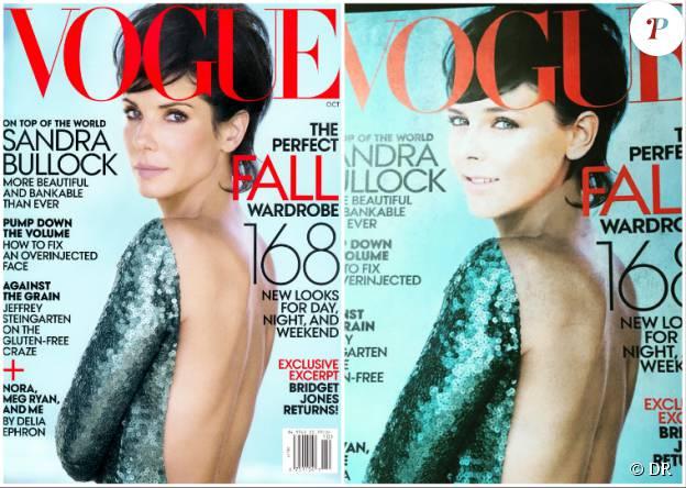 Pour la fin de son stage chez Vogue US, à l'été 2015, Pauline Ducruet a eu droit à une couverture la figurant, à partir de la couverture d'octobre 2013 avec Sandra Bullock.