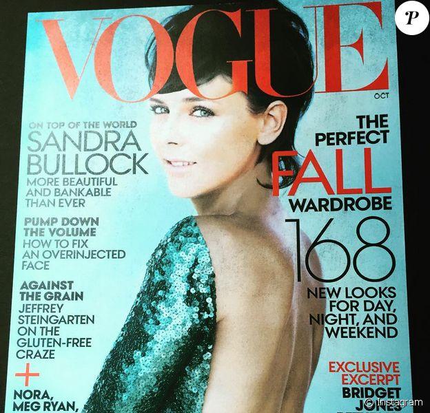 Pauline Ducruet a été transformée en Sandra Bullock en couverture de Vogue US, pour la fin de son stage au sein de la prestigieuse publication, à New York, en juillet 2015