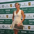 Tatiana Golovin lors de la 22e Nuit du tennis au Sporting Club de Monte Carlo le 18 avril 2014