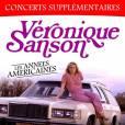 Affiche de la tournée Les Années Américaines de Véronique Sanson, lors de son passage à l'Olympia de Paris, les 6,7, 18 et 19 avril 2015