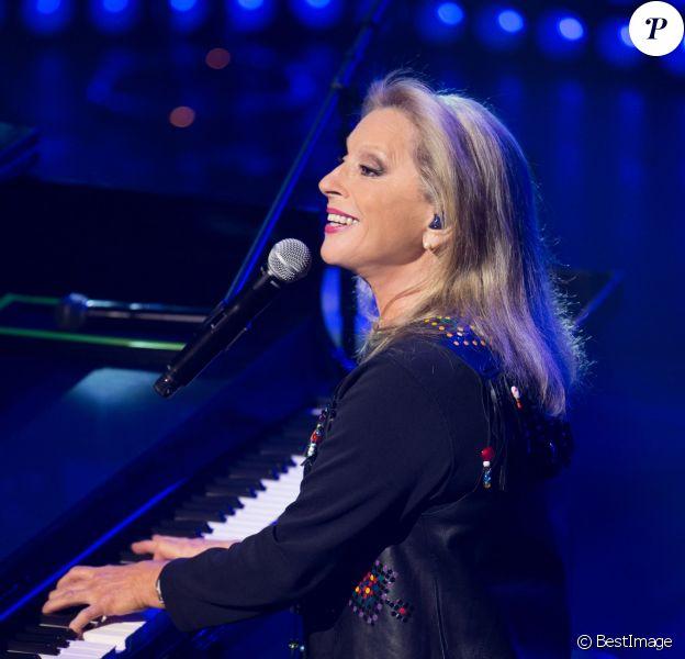 Exclusif -Véronique Sanson en concert à l'Olympia à Paris, le 10 février 2015