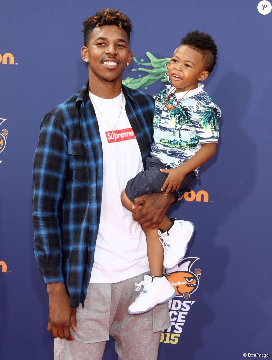 Video nick young sons