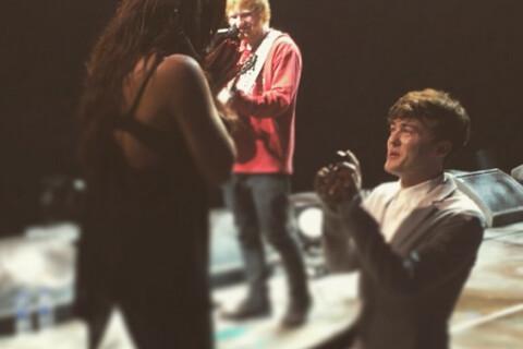 Jesy Nelson (Little Mix) et Jake Roche fiancés avec la complicité d'Ed Sheeran