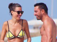 Xavi et sa belle Nuria, enceinte : Amoureux et câlins sous le soleil d'Ibiza