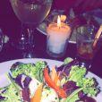 Diner en amoureux pour Amélie Neten
