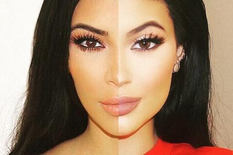 Kylie Jenner : Bluffant sosie de... Kim Kardashian !