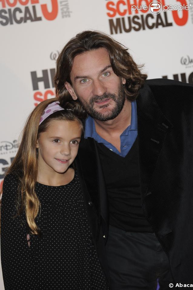 Frédéric Beigbeder et sa fille Chloé