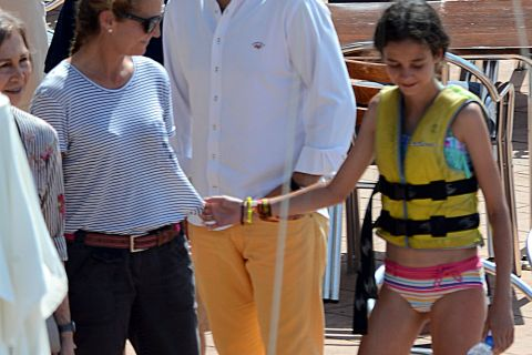 Sofia d'Espagne : Vacances à bâbord, entourée de ses petits-enfants à Majorque !