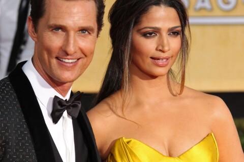 Matthew McConaughey : Fier de sa femme Camilla pour une grande nouvelle