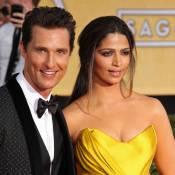 Matthew McConaughey : Fier de sa femme Camila pour une grande nouvelle
