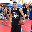 Mark Salling lors ESPNLA All-Star Celebrity Basketball Game à Los Angeles, le 7 août 2015