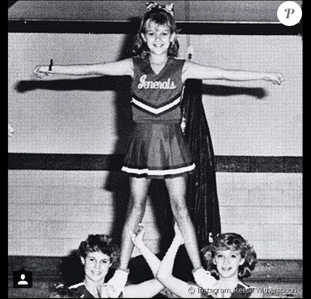 Reese Witherspoon en pom-pom girl en 1990.