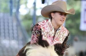 Michael Schumacher : Sa fille Gina-Maria brille devant sa maman Corinna