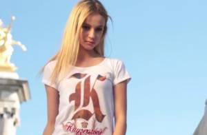 Jade Foret : Sa petite soeur Cassandra, 16 ans, sublime égérie Kayzerstone !