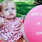 Christina Aguilera : 1er anniversaire de son adorable Summer Rain !