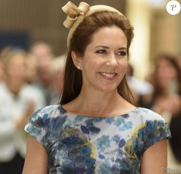 La princesse Mary de Danemark inaugurait le 24 août 2015 à Slagelse un nouvel hôpital psychiatrique.