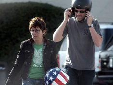 REPORTAGE PHOTOS : Hugh Laurie, le docteur House vous présente sa femme... la bikeuse !