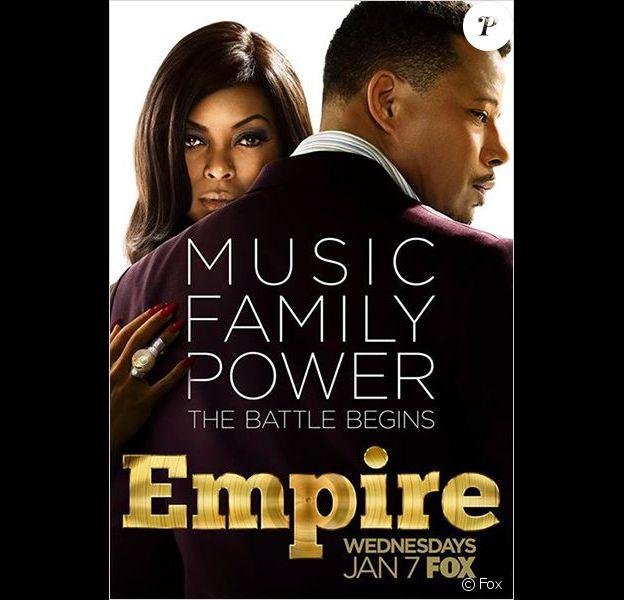Affiche promo saison 1 d'Empire