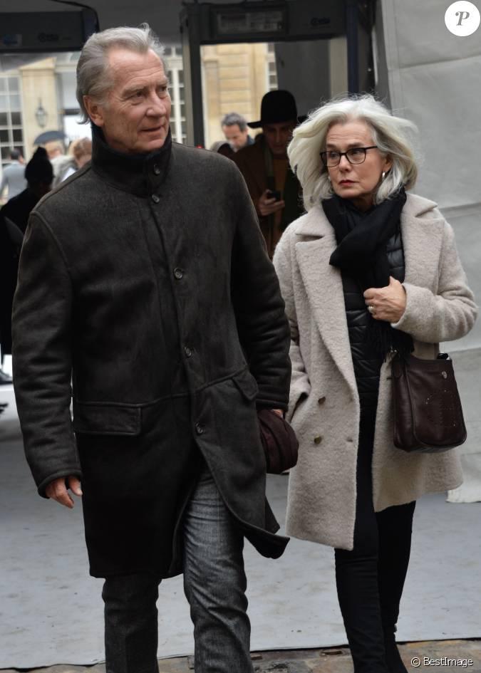 William leymergie et sa femme sorties du d fil de mode christian dior collection haute - Laurent bignolas et son epouse ...