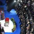 Obsèques de Michael Jackson à Los Angeles, le 7 juillet 2009.