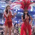 Nicki Minaj et Taylor Swift aux MTV Video Music Awards à Los Angeles, le 30 août 2015.