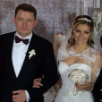 Maria Kirilenko lors de son mariage en janvier 2015.