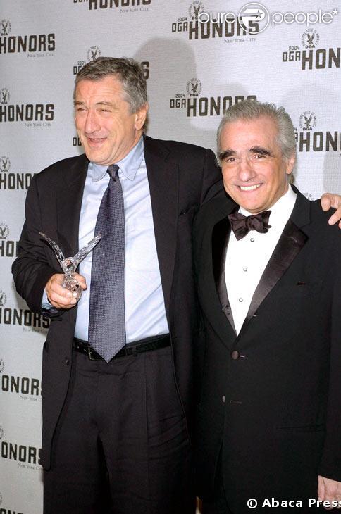 Robert De Niro et Martin Scorsese en 2004