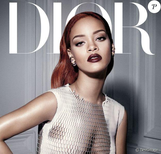 Rihanna photographiée par Craig McDean pour le Dior Mag.