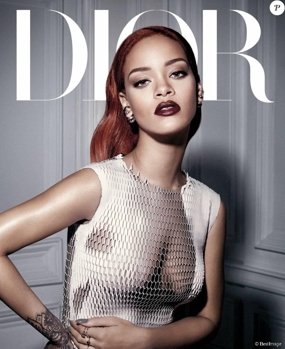 Rihanna photographiée par Craig McDean pour le Dior Mag. - Purepeople eb53797e8f9