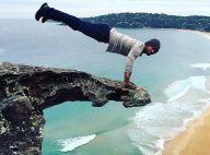 Kellan Lutz sportif extrême : Son entraînement insolite au bord d'une falaise