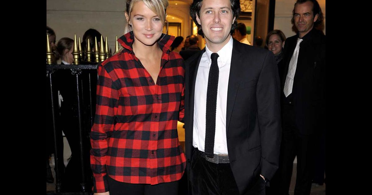 virginie efira la nouvelle boutique ralph lauren avec david lauren. Black Bedroom Furniture Sets. Home Design Ideas