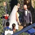 """Exclusif - Mariage de Erika Christensen (série """"Parenthood"""") et de Cole Maness à Palm Springs, le 5 septembre 2015."""