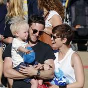 Jamie Bell : Avec son fils et son amoureuse Kate Mara, Billy Elliot aux anges !