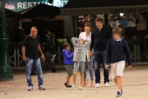 Patrick Bruel : Sa belle Caroline, fan amoureuse avec ses enfants Oscar et Léon