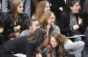 REPORTAGE PHOTOS : Laura Smet et Virginie Ledoyen très dissipées chez Chanel... pas sages ces filles !