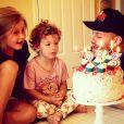 Tori Spelling fête les trois ans de son fils en famille / photo postée sur Instagram.