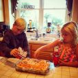 Les enfants de Tori Spelling / photo postée sur Instagram.