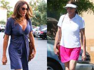 Caitlyn Jenner : Décolleté plongeant ou jupette sportswear, un look très étudié